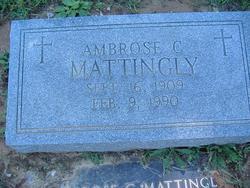 Ambrose C. Mattingly