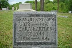 Sarah <i>Arthur</i> St. John