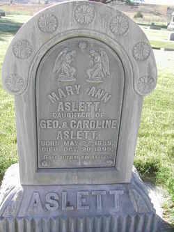 Mary Ann Aslett