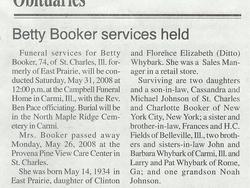 Betty Jean <i>Whybark-</i> Booker