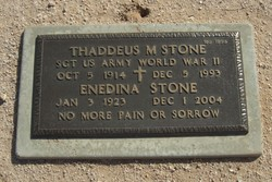 Thaddeus M Stone
