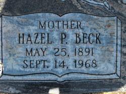 Hazel Pearl <i>Beck</i> Allred