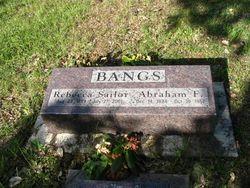 Abraham F. Bangs