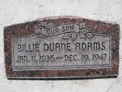 Billie Duane Adams