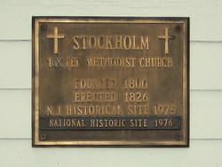 Stockholm Methodist Church Cemetery
