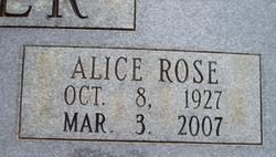 Alice Rose <i>Carter</i> Becker
