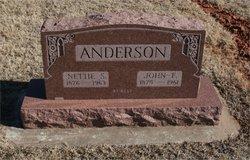 Nettie Sophia <i>Honaker</i> Anderson