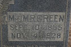 Mary Jane <i>Gathright</i> Green