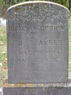 Anna J <i>Cushing</i> Ayres