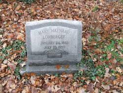 Mary <i>Maynard</i> Lonberger