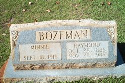 Minnie <i>Nicholson</i> Bozeman