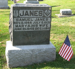 Mary A. <i>Wells</i> Janes