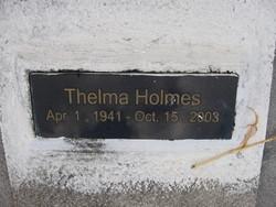 Thelma Holmes