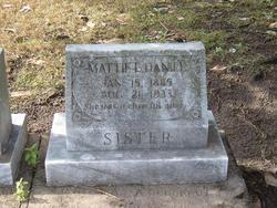 Mattie E. Daniel