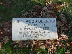 Dr Philip Wood Oden