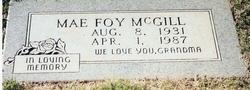 Mae Foy <i>Walker</i> McGill