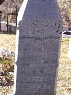Mary <i>Casey</i> McGuirk