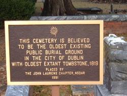 Old Dublin Cemetery
