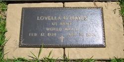 Lovella Oline Aunt Lou <i>(U.S. Army)</i> Hayes