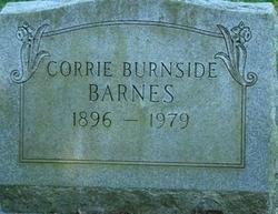 Corrie <i>Burnside</i> Barnes