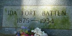 Ida <i>Fort</i> Batten