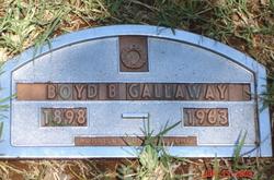 Boyd Brooks Gallaway