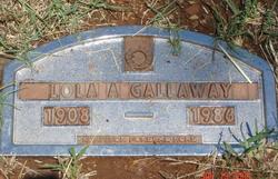 Lola A <i>Fitzgerald</i> Gallaway