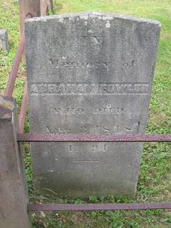 Abraham Fowler, IV