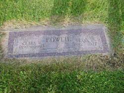 Clara B. <i>Ross</i> Fowlie