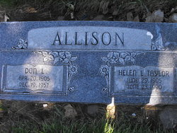 Helen Taylor Allison