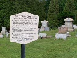 Rupp Lutheran Church Cemetery