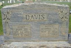 Martha <i>Lay</i> Davis