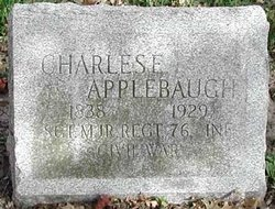 Sgt Charles Edward Applebaugh