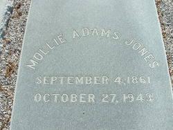 Mollie <i>Adams</i> Jones