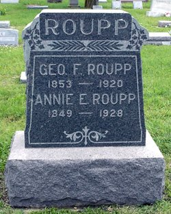 Annie E <i>Senner</i> Roupp