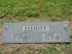 Myrtle Jane <i>Leathers</i> Elliott