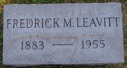 Fredrick McGee Leavitt