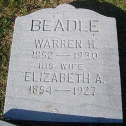 Elizabeth A. Betsey <i>Burd</i> Beadle