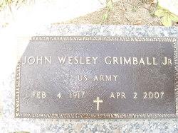 John Wesley Grimball, Jr