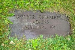 Georgia <i>Creekmore</i> Adkins
