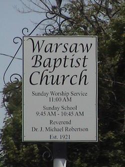 Warsaw Baptist Church Cemetery