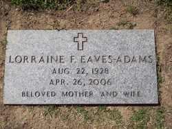 Lorraine Farol Eaves Adams