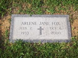 Arlene Jane Fox