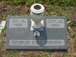 George Dale Georgie Holmes