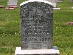 Julia <i>Foerster</i> Dossinger