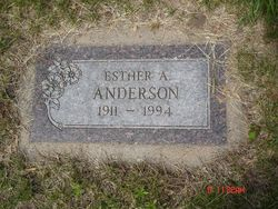 Esther A. Anderson