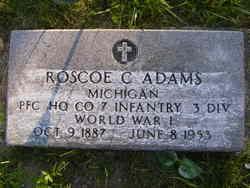 Roscoe C Adams