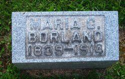Maria C. <i>Harvey</i> Borland