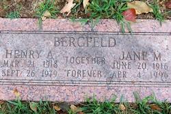 Lieut Henry A. Bergfeld