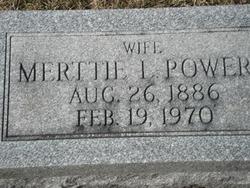 Merttie Lee <i>Powers</i> Long